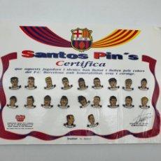 Pins de colección: PINS F.C.BARCELONA ( SANTOS PIN'S ). Lote 234901610