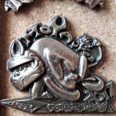 Pins de colección: PIN MEDALLA CONCENTRACION DE MOTOS - PIN MOTERO - MOTAUROS - TORDESILLAS - NO PINGUINOS. Lote 235258570