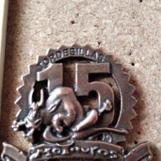 Pins de colección: PIN MEDALLA CONCENTRACION DE MOTOS - PIN MOTERO - MOTAUROS - TORDESILLAS - NO PINGUINOS. Lote 235258610