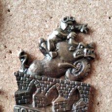 Pins de colección: PIN MEDALLA CONCENTRACION DE MOTOS - PIN MOTERO - MOTAUROS - TORDESILLAS - NO PINGUINOS. Lote 235259010