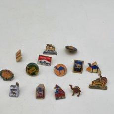 Pins de colección: LOTE PINS TABACO ( VER FOTOS ). Lote 235458970