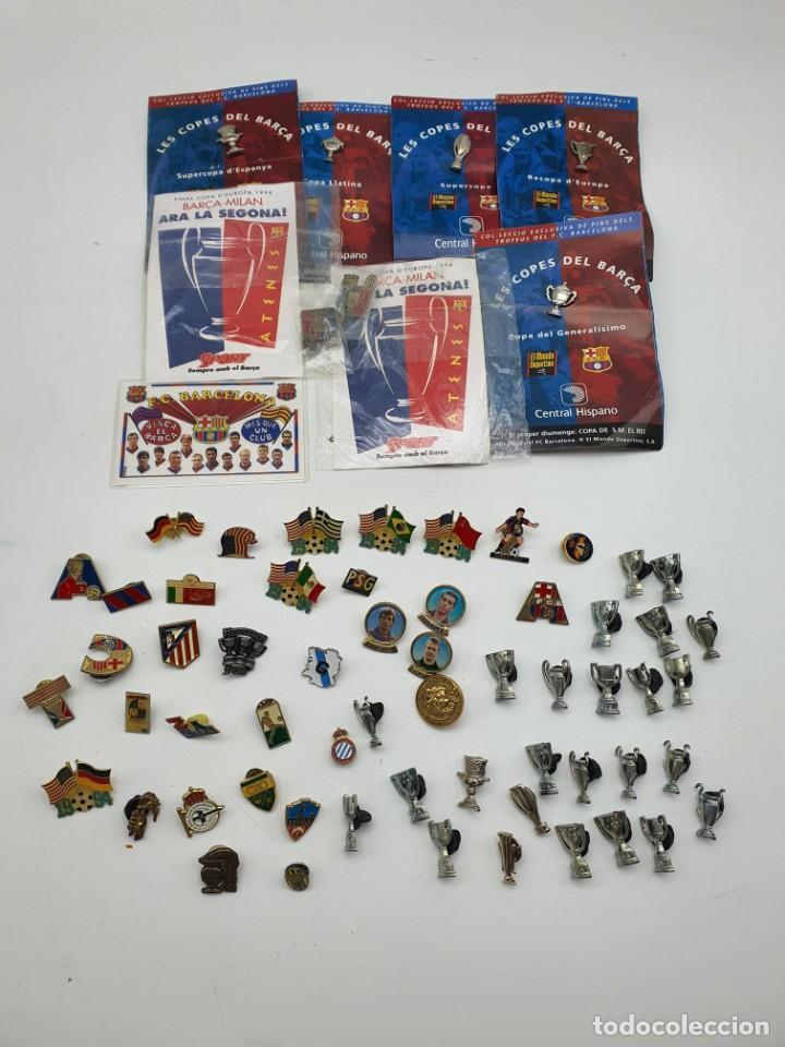 LOTE PINS RELACIONADOS CON FUTBOL ( VER FOTOS ) (Coleccionismo - Pins)