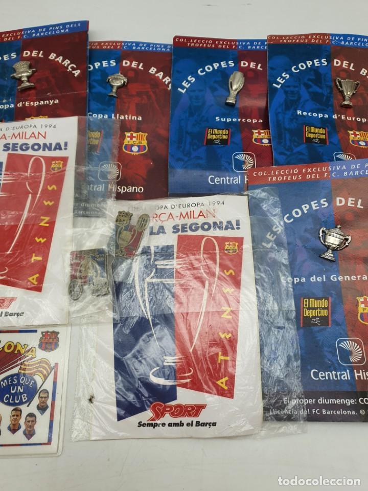 Pins de colección: LOTE PINS RELACIONADOS CON FUTBOL ( VER FOTOS ) - Foto 3 - 235461460