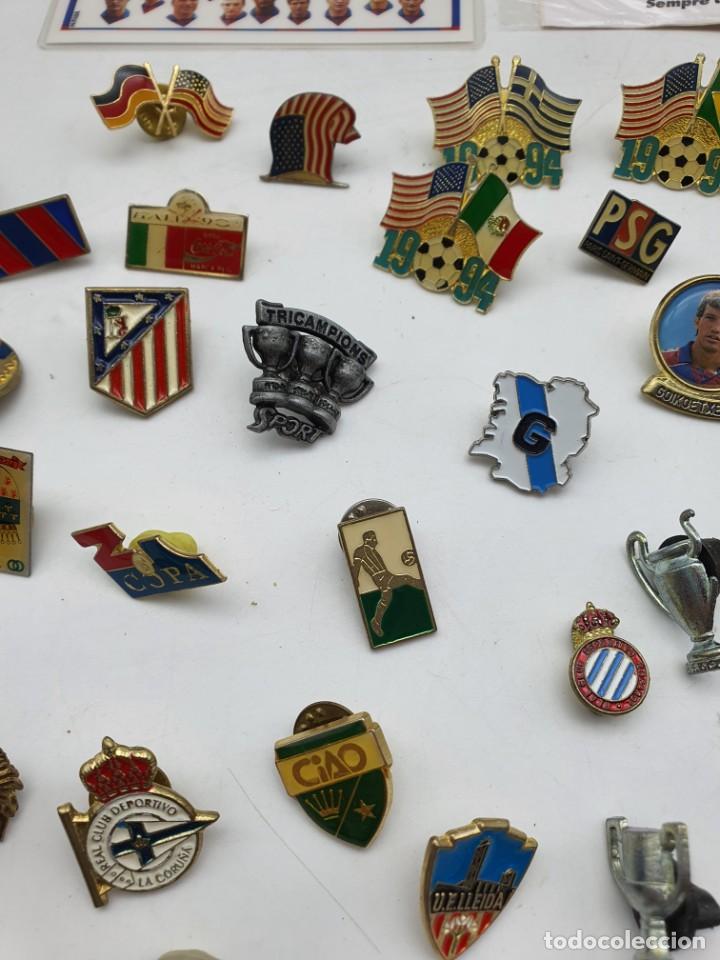 Pins de colección: LOTE PINS RELACIONADOS CON FUTBOL ( VER FOTOS ) - Foto 8 - 235461460