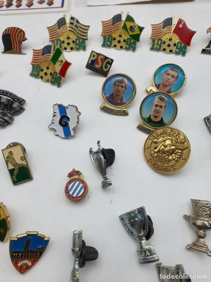Pins de colección: LOTE PINS RELACIONADOS CON FUTBOL ( VER FOTOS ) - Foto 9 - 235461460