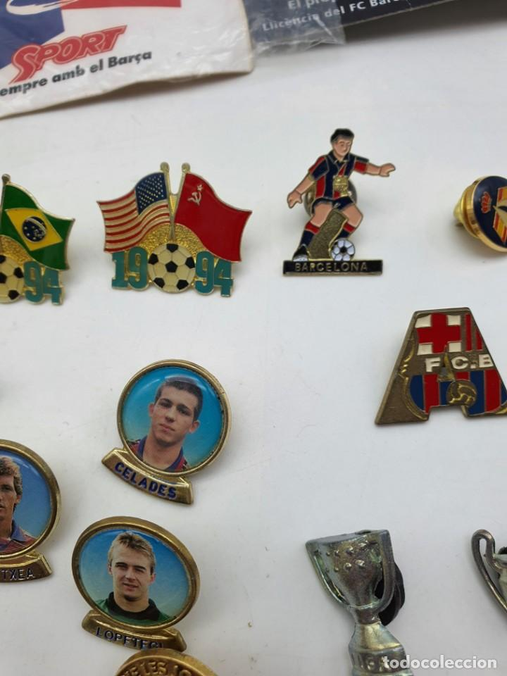 Pins de colección: LOTE PINS RELACIONADOS CON FUTBOL ( VER FOTOS ) - Foto 13 - 235461460
