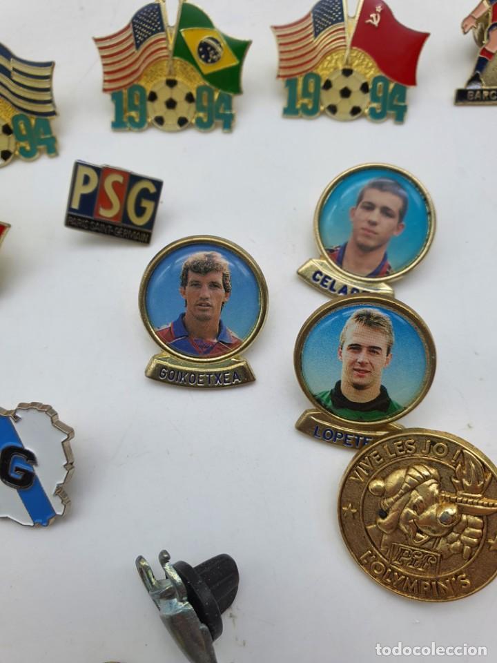 Pins de colección: LOTE PINS RELACIONADOS CON FUTBOL ( VER FOTOS ) - Foto 14 - 235461460
