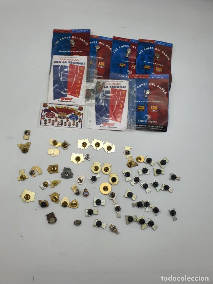 Pins de colección: LOTE PINS RELACIONADOS CON FUTBOL ( VER FOTOS ) - Foto 18 - 235461460