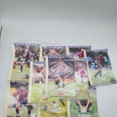Pins de colección: LOTE LES FITXES DEL BARÇA CON PIN ( VER FOTOS ). Lote 235462465
