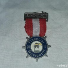 Pins de colección: INSIGNIA EXPERIENCED FINANCIAL NAVIGATER 2010. Lote 235703725
