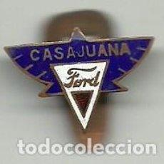 Pins de colección: (P-344)INSIGNIA ESMALTADA CASAJUANA FORD. Lote 236385720