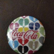 Pins de colección: PIN COCA COLA CORAZONES. Lote 236511135