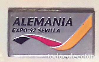 PIN ALEMANIA EXPO 92 SEVILLA (Coleccionismo - Pins)