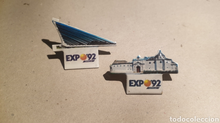 2 PINS PIN EXPO 92 SEVILLA (Coleccionismo - Pins)