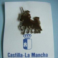 Pins de colección: PINS DE QUIJOTE CASTILLA LA MANCHA TURISMO--CAJ-4. Lote 237022235