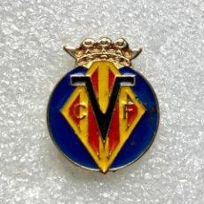 Pins de coleção: 446.PIN INSIGNIA DE FUTBOL VILLAREAL C.F. Lote 239536255