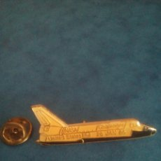 Pin's de collection: PIN NASA - TRANSBORDADOR ESPACIAL CHALLENGER - 28 ENERO 1986. Lote 241665730