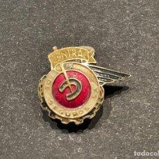 Pins de colección: PIN - INSIGNIA DE SOLAPA ESMALTADA - CENTRAL DE SEGUROS. Lote 241674775