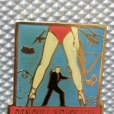 Pins de colección: PIN PELÍCULA 007 AGENTE JAMES BOND. Lote 241952035