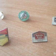 Pins de colección: PINS, ANTIGUOS, TEMÁTICA CERVEZA. Lote 242489860