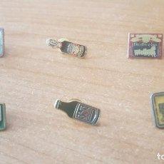 Pins de colección: PINS, ANTIGUOS, TEMÁTICA CERVEZA. Lote 242489960