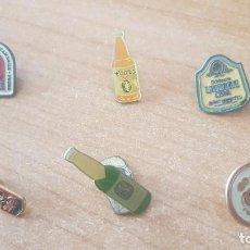 Pins de colección: PINS, ANTIGUOS, TEMÁTICA CERVEZA. Lote 242490180
