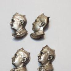 Pins de colección: PINS O BROCHE DE AGUJA BUSTO DE FRANCO LOTE 4. Lote 243478795