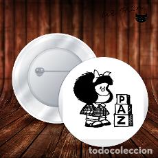 Pins de colección: MAFALDA PAZ CHAPA BOTON BADGE PIN IMPERDIBLE. Lote 243723240