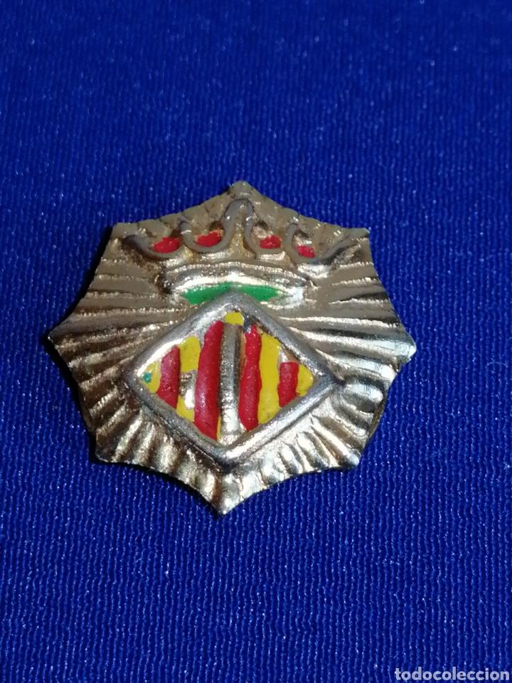 PIN POLICÍA LOCAL DE VALENCIA DE OJAL (Coleccionismo - Pins)