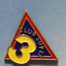 Pin's de collection: PIN SUPER3 TV3. Lote 262825010