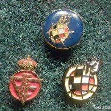 Pins de colección: 3 PIN - FEDERACIÓN ESPAÑOLA DE FUTBOL - REAL - F.E.F - NUEVOS - 18 X 12 MM - LOGO MODERNO Y ANTIGUO. Lote 244618935