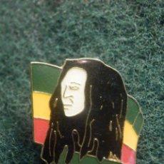 Pins de colección: PIN - MARIHUANA - FREEDOM - BOB MARLEY - 24 MM X 19 MM. Lote 244619770