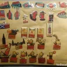 Pins de colección: LOTE - COLECCIÓN DE 30 PINES COCA COLA - EXPO 92, OLIMPIADAS, MÚSICA. Lote 244782720