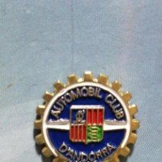 Pins de colección: PIN AUTOMÓVIL CLUB ANDORRA. Lote 245135175