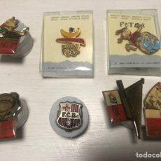 Pins de colección: LOTE PIN FC BARCELONA EXPO 92 COCACOLA ENVIO GRATIS. Lote 245646950