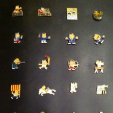 Pins de colección: LOTE 24 PIN O PINS COBI (MASCOTA JUEGOS OLIMPICOS BARCELONA 92). Lote 246043465