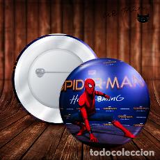 Pins de colección: SPIDERMAN ENTRADA CHAPA BOTON BADGE PIN IMPERDIBLE. Lote 246399665