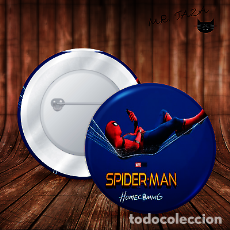 Pins de colección: SPIDERMAN POSTER MOVIE CHAPA BOTON BADGE PIN IMPERDIBLE. Lote 246405140