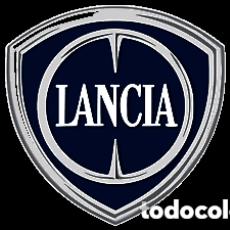 Pins de colección: LANCIA MOTOR COCHE LOGO CHAPA BOTON BADGE PIN IMPERDIBLE 58 MM. Lote 246409710