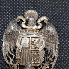 Pins de colección: ÁGUILA SAN JUAN PLATA SOBREDORADA AÑOS 40 FRANCO DE JOYERÍA PRECIOSA. Lote 246468335