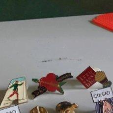 Pins de colección: LOTE DE SIETE PINS / SURTIDOS. Lote 246656855