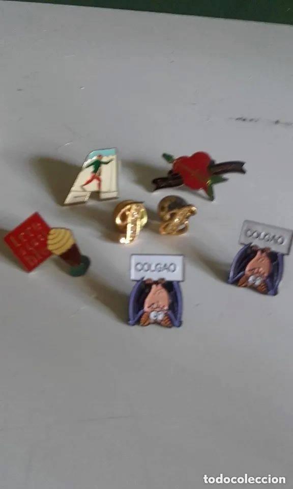 Pins de colección: LOTE DE SIETE PINS / SURTIDOS - Foto 3 - 246656855