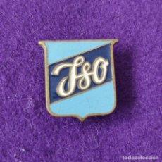 Pins de colección: INSIGNIA PUBLICITARIA DE OJAL. ISO - MOTOS. PIN PINS. AÑOS 50-60.. Lote 246930615