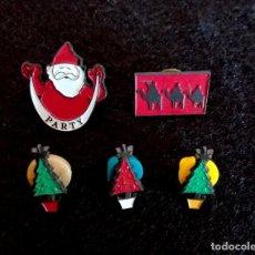 Pins de colección: PINS NAVIDAD. Lote 248585920