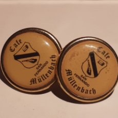 Pins de colección: LOTE PIN CAFÉ SAN FERNANDO MÜLLENBACH. Lote 249070390