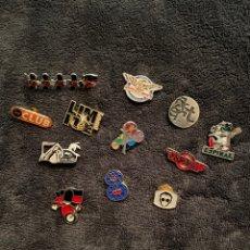Pins de colección: 12 PINES DISCOTECA. Lote 249288170