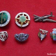 Pins de colección: LOTE DE 7 DISTINTIVOS / EMBLEMAS / INSIGNIAS.. Lote 249307515