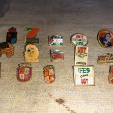 Pins de colección: 15 ANTIGUOS PINES VARIOS, VER FOTOS.... Lote 249528825