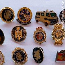 Pins de colección: GRAN LOTE DE COLECCIONISTA 25 PIN Y 3 AGUJAS DE CORBATA, FUERZAS Y CUERPOS DE SEGURIDAD DEL ESTADO.. Lote 251079750