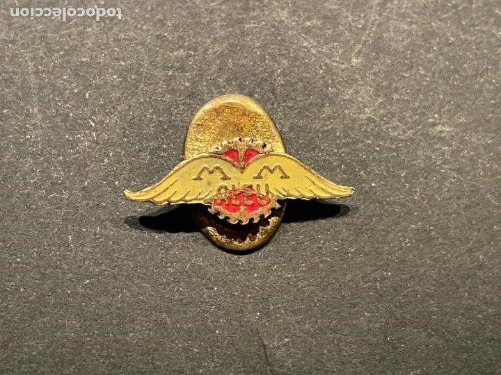 Pins de colección: PIN - DIFICIL INSIGNIA DE SOLAPA MOTOCICLETAS MM ALEU - Foto 2 - 253257540
